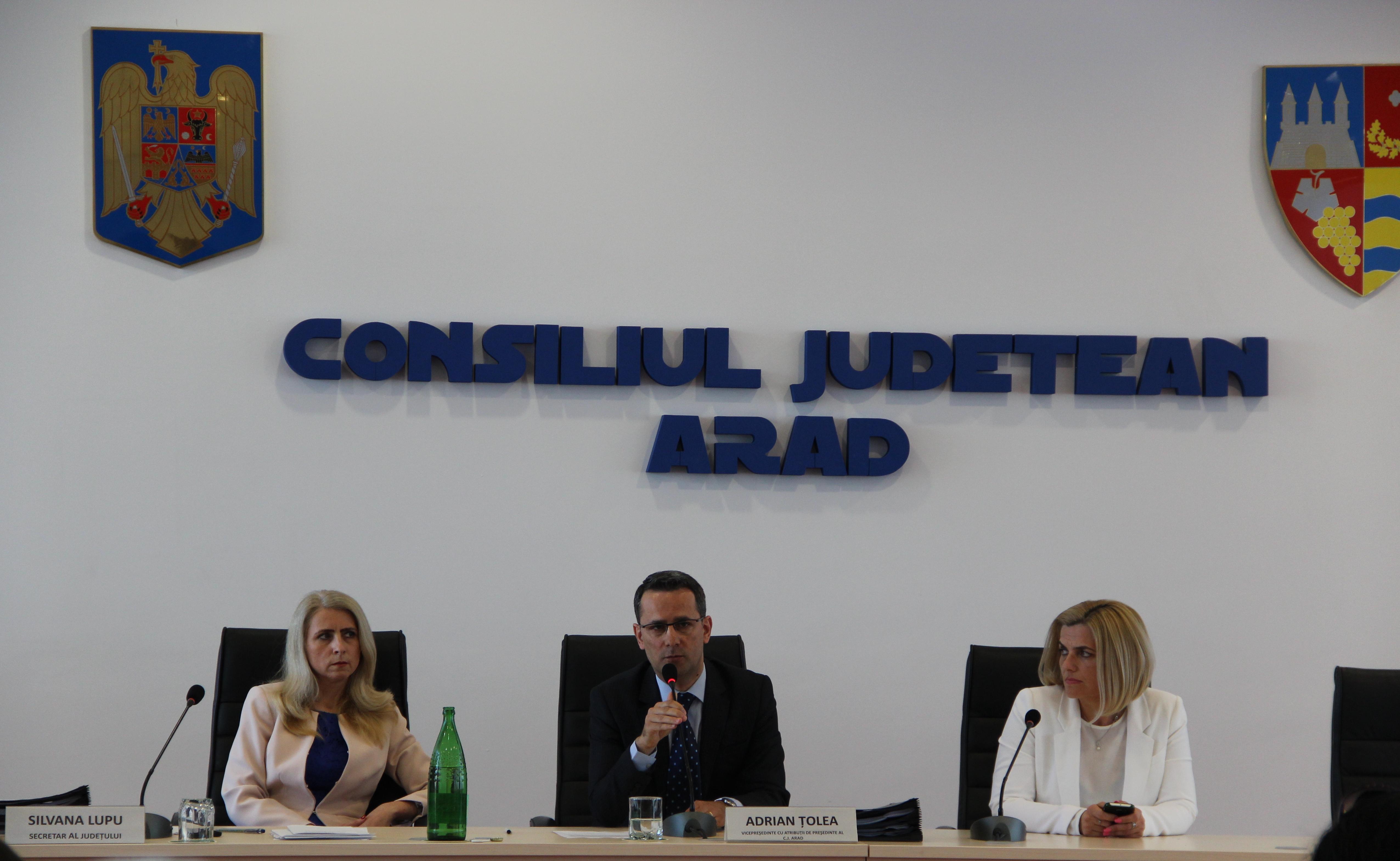 Simona Stan, noul vicepresedinte al Consiliului Judetean Arad