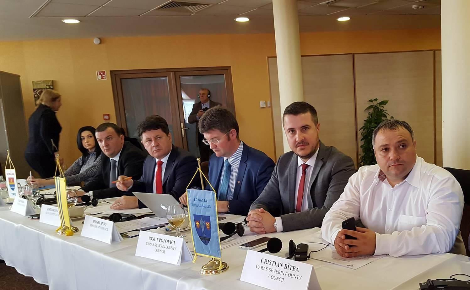 """Iustin Cionca, la Adunarea Generală DKMT, în Ungaria:  """"Aradul este într-un program ambițios de reabilitare a infrastructurii și dezvoltare a turismului"""""""