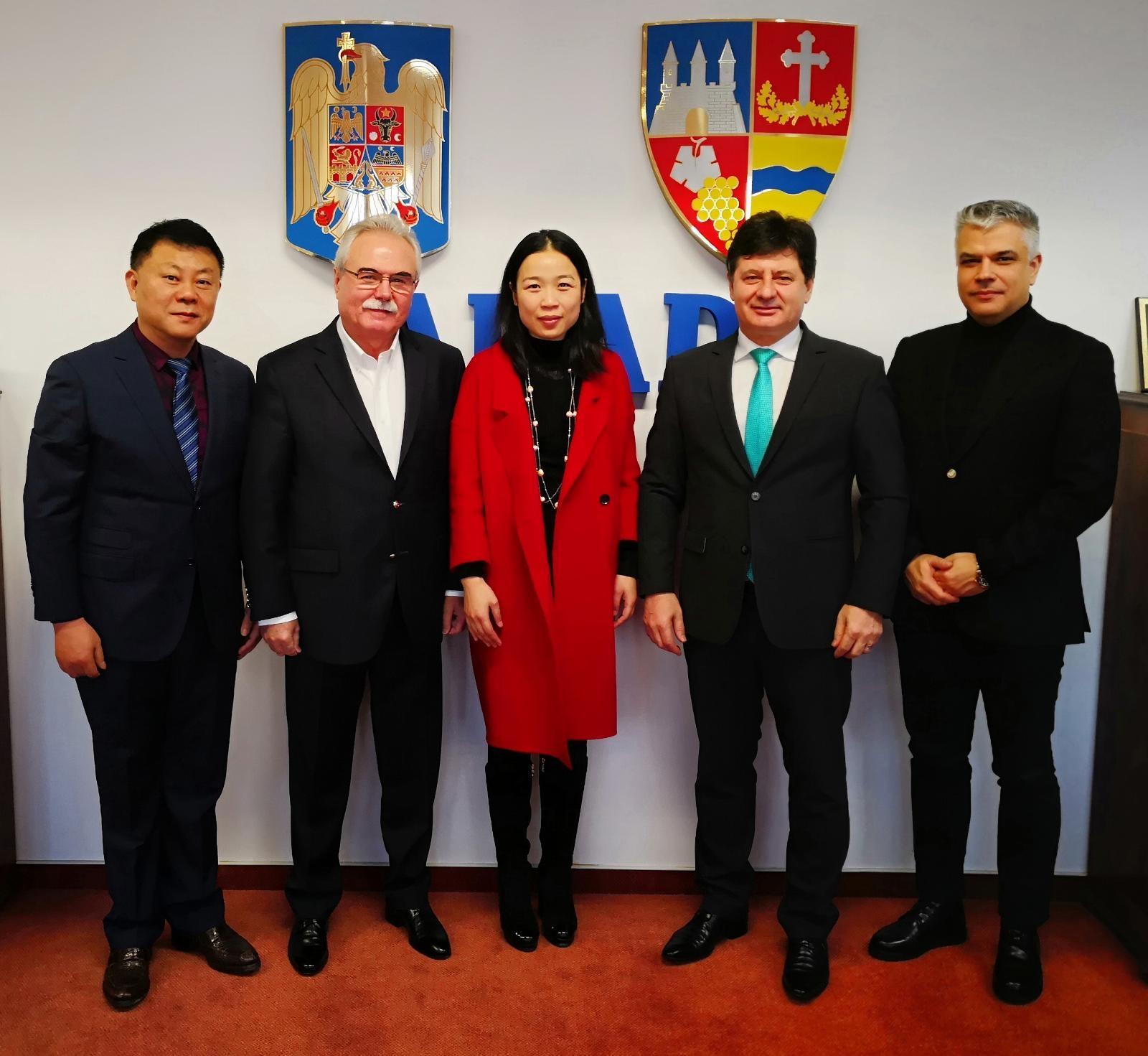 Relație de afaceri Arad-Changzou, intermediată de Consiliul Județean și Camera de Comerț