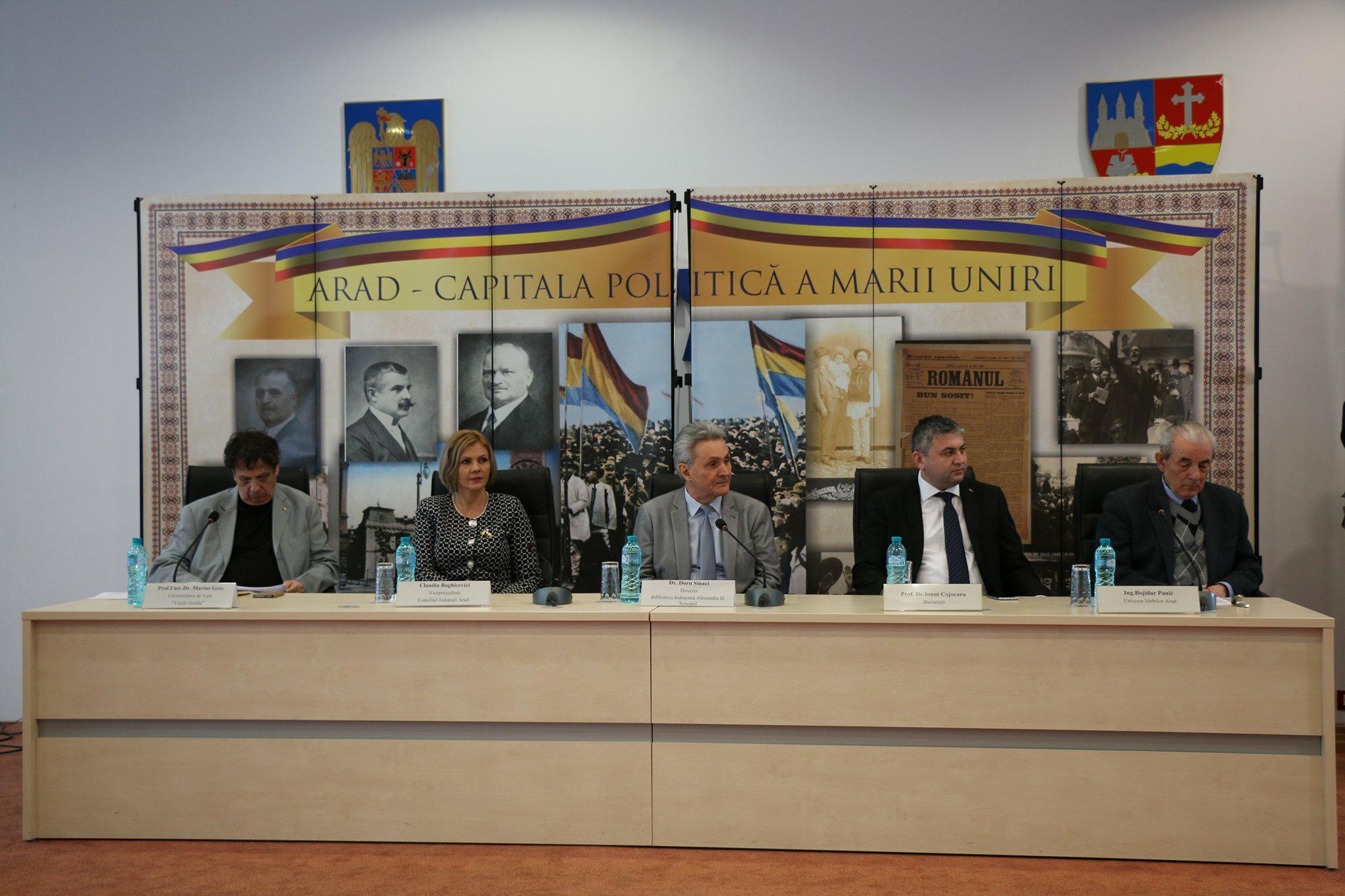 """Claudia Boghicevici, vicepreşedinte al Consiliului Judeţean Arad: """"Aradul sărbătoreşte Anul Centenar cu evenimente de anvergură internaţională"""""""