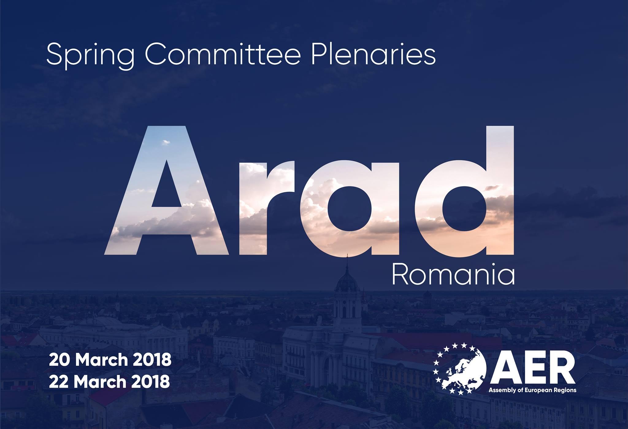 Aradul devine centrul administrativ al Europei, la final de martie!