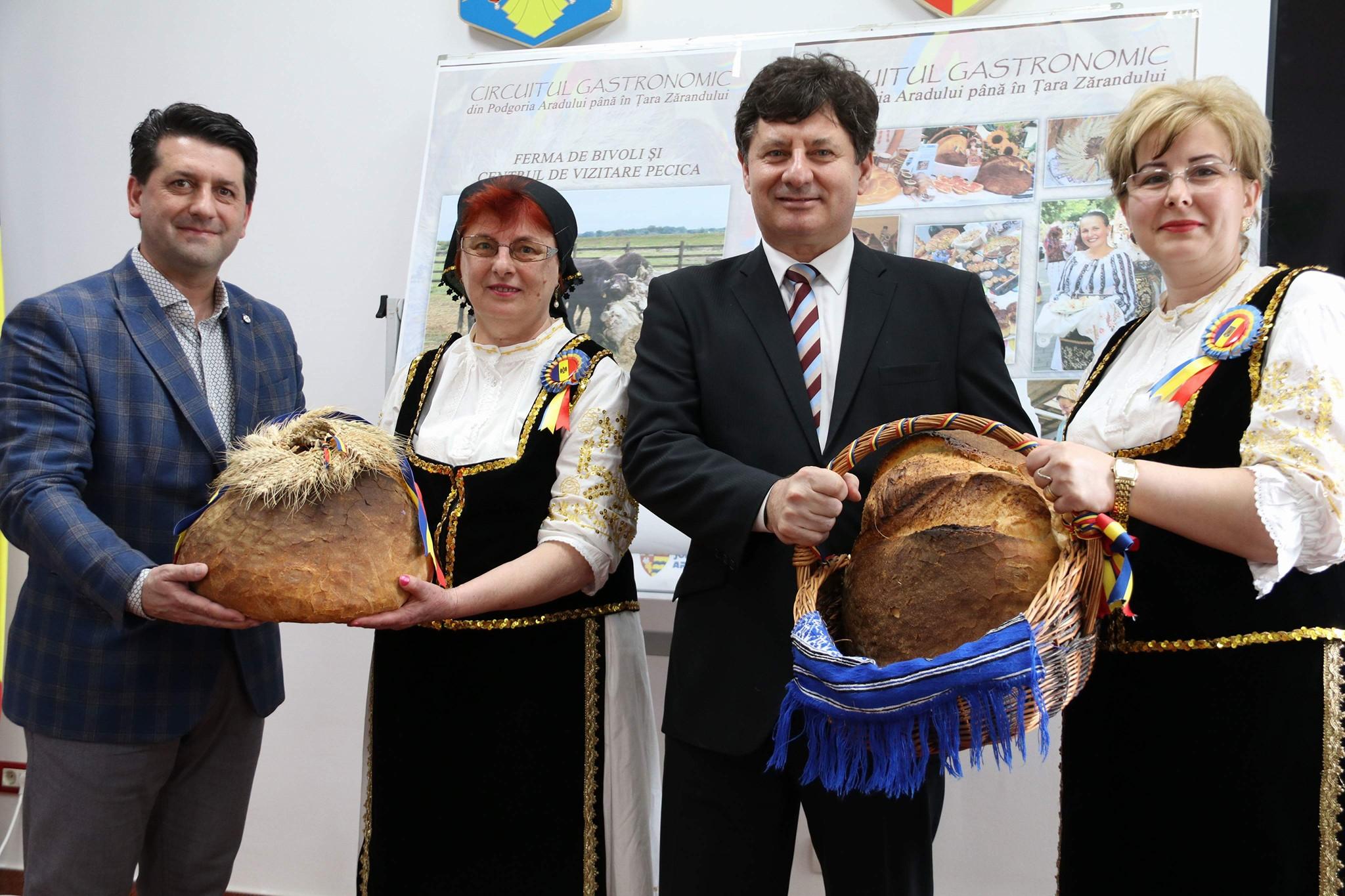 Primul punct de pe Circuitul Gastronomic Arădean va fi la Pecica, la Ferma de Bivoli!