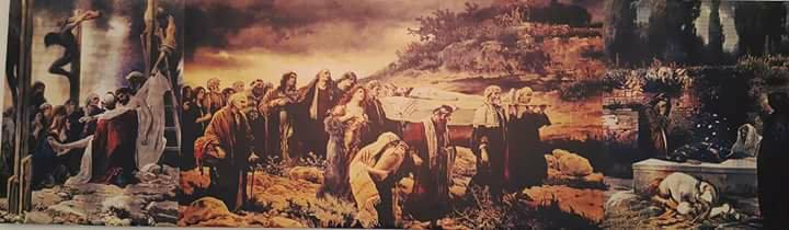 """Promisiune îndeplinită: Tripticul """"Înmormântarea lui Hristos"""" a fost astăzi trimis spre restaurare!"""