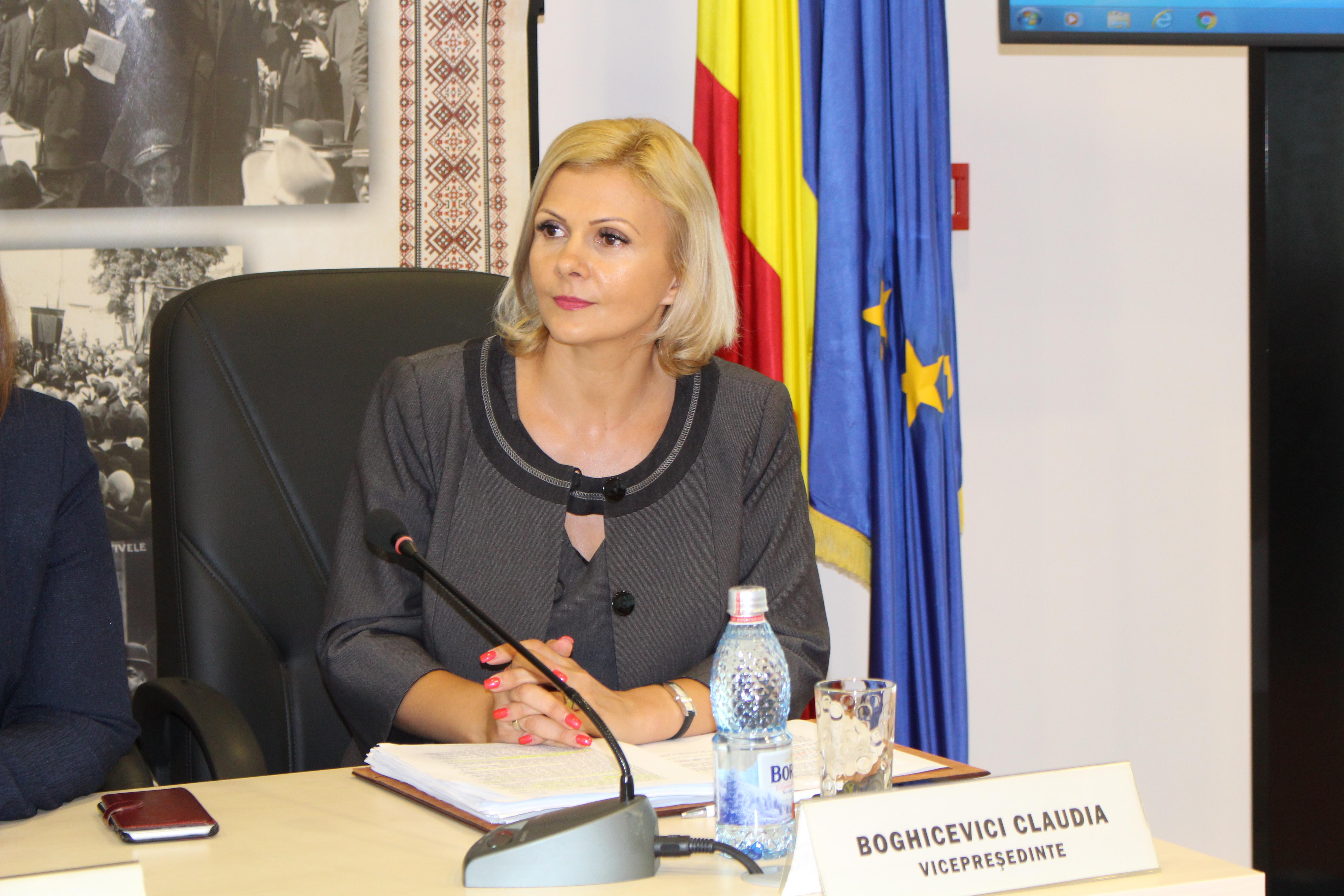 """Consiliul Judeţean Arad, în parteneriat cu Federaţia Plus, Federaţia Organizaţiilor Neguvernamentale pentru Servicii Sociale,  Federaţia Organizaţiilor Neguvernamentale pentru Copil şi Universitatea """"Aurel Vlaicu"""" a organizat, în perioada 4-5 iunie, la iniţiativa Claudiei Boghicevici, vicepreşedinte al Consiliului Judeţean Arad, o conferinţă având ca temă serviciile sociale şi achiziţionarea acestora."""