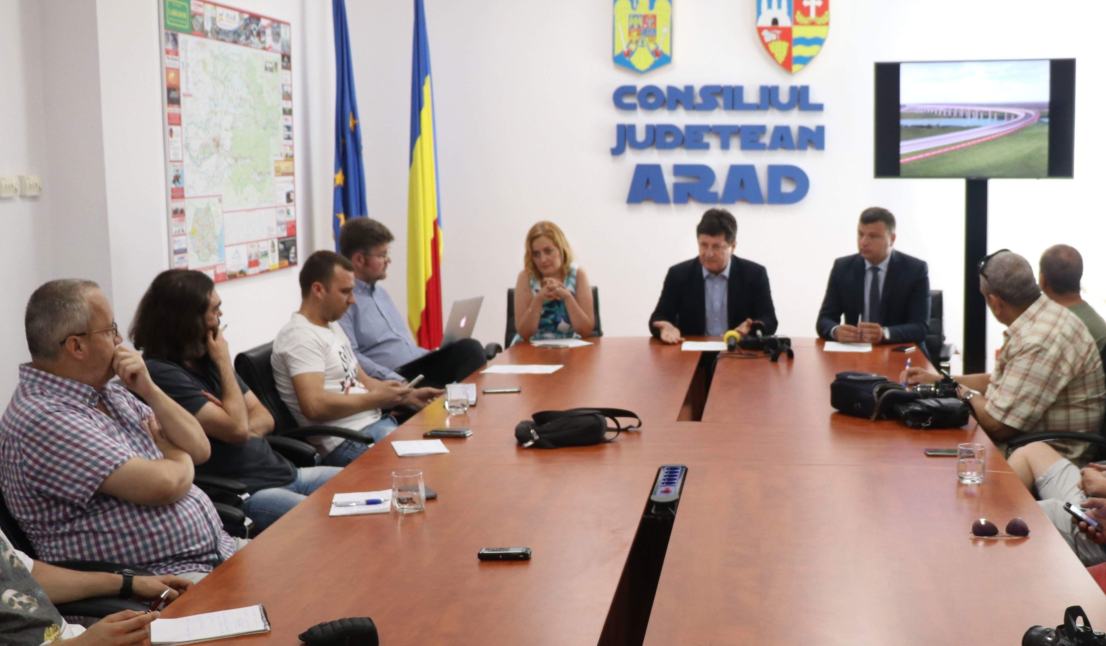 """Iustin Cionca: """"Am depus cel mai important proiect pe fonduri europene, din istoria Consiliului Județean Arad!"""""""