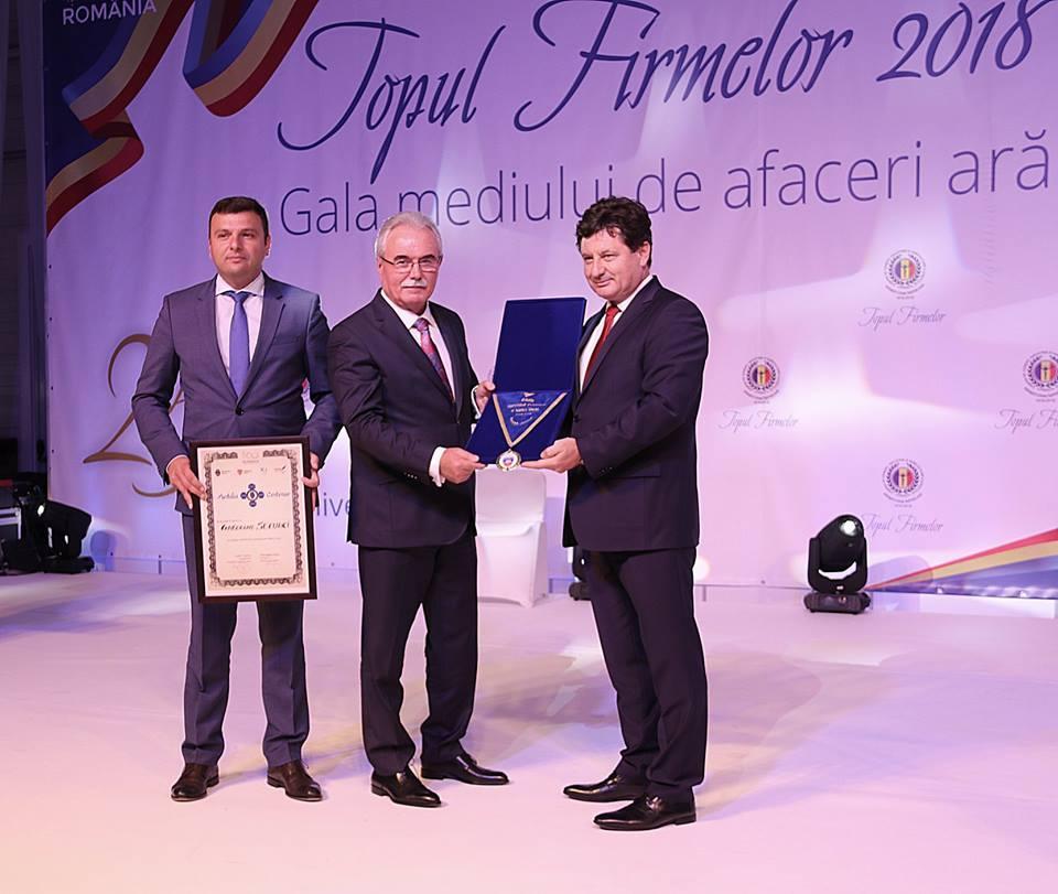 Camera de Comerț, Industrie și Agricultură a județului Arad a premiat și în acest an excelența în afaceri!