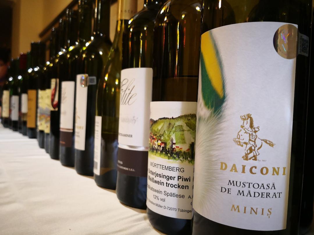 Concurs de vinuri între Podgoria Miniș-Măderat și Podgoria Tübingen, organizat de Consiliul Județean Arad