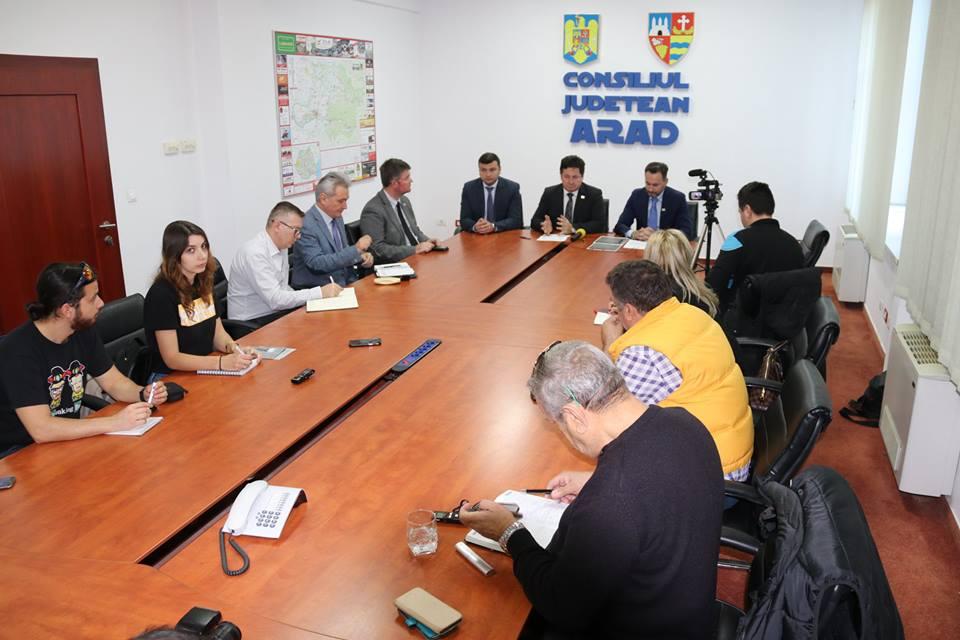 Consiliul Județean Arad și Primăria Municipiului Arad prezintă agenda evenimentelor dedicate Centenarului