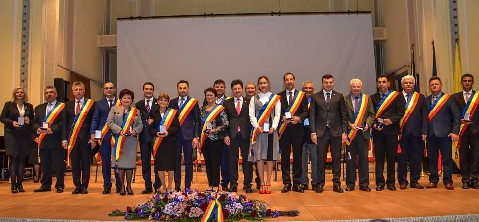 Distincțiile Marii Uniri pentru reprezentanții administrațiilor locale și naționale