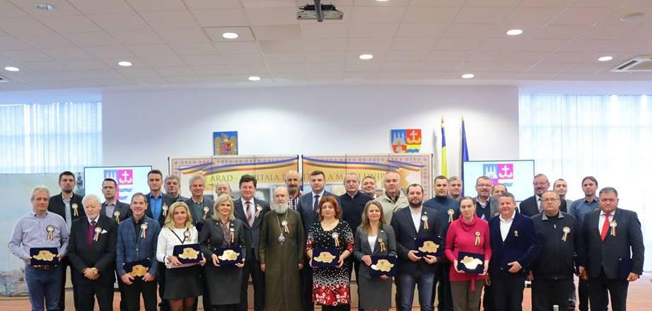 Şedinţă festivă de Centenar, la Consiliul Judeţean Arad