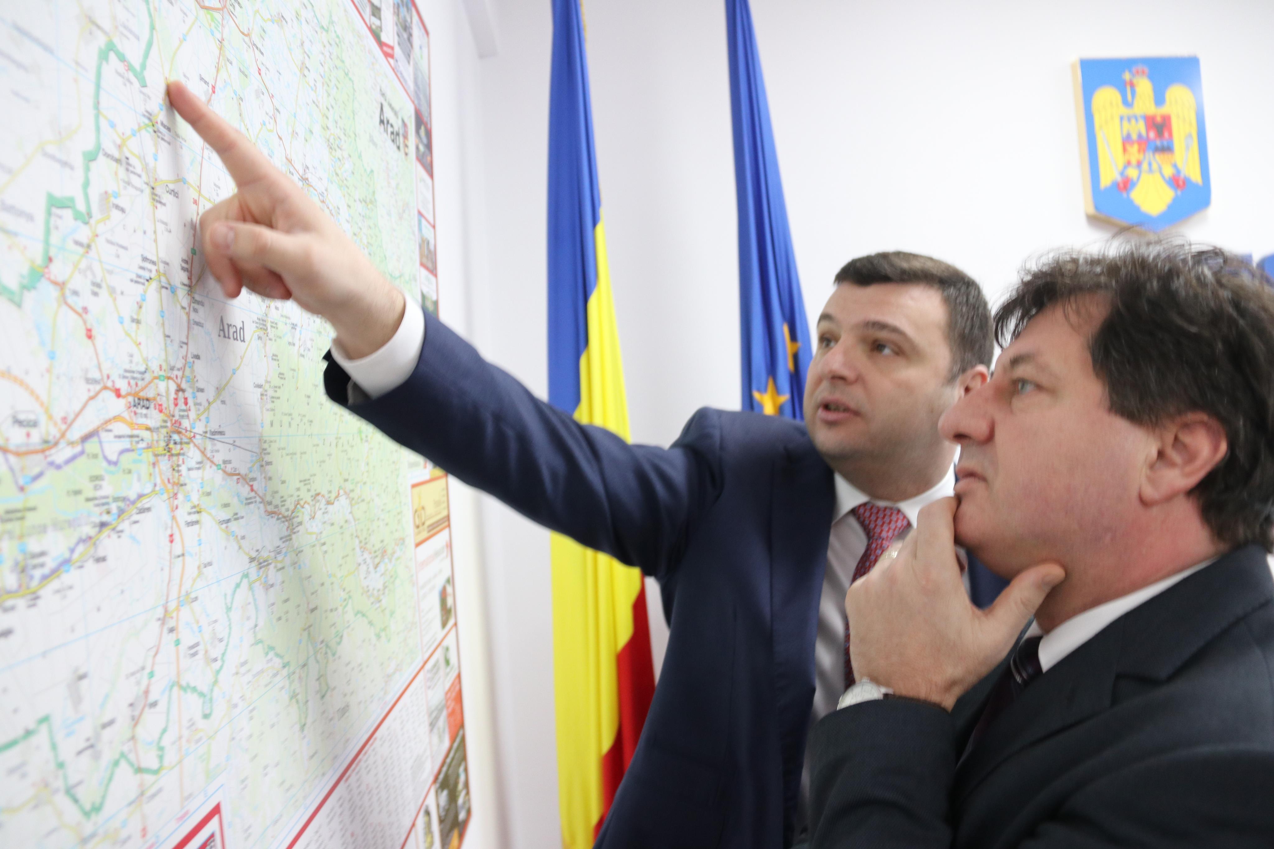 """Iustin Cionca: """"Oricât ar fi de supărat PSD, Consiliul Județean tot va moderniza drumul Arad-Șiria!"""""""