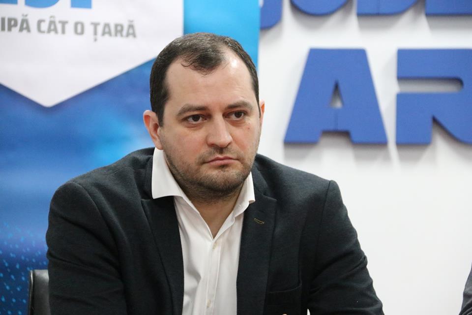 Răzvan Cadar, ales astăzi vicepreședinte al Consiliului Județean Arad