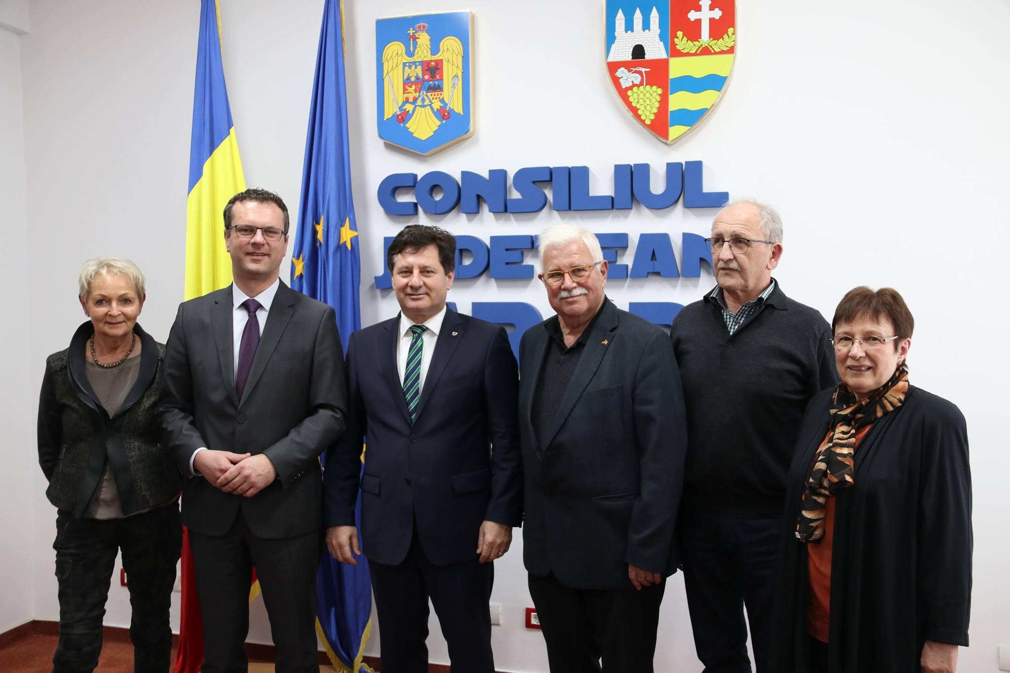 Delegație din Tübingen, în vizită oficială la Arad