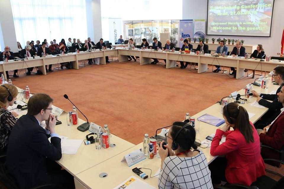 """Conferința ,,Via Habsburg"""", unul dintre cele mai importante evenimente culturale internaționale ale anului 2019 în Arad, la Consiliul Județean"""