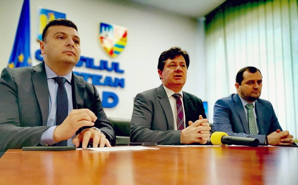"""Iustin Cionca: """"Șoseaua de centură a municipiului o finalizăm din banii Aradului, nu o lăsăm să se împiedice de Guvern"""""""