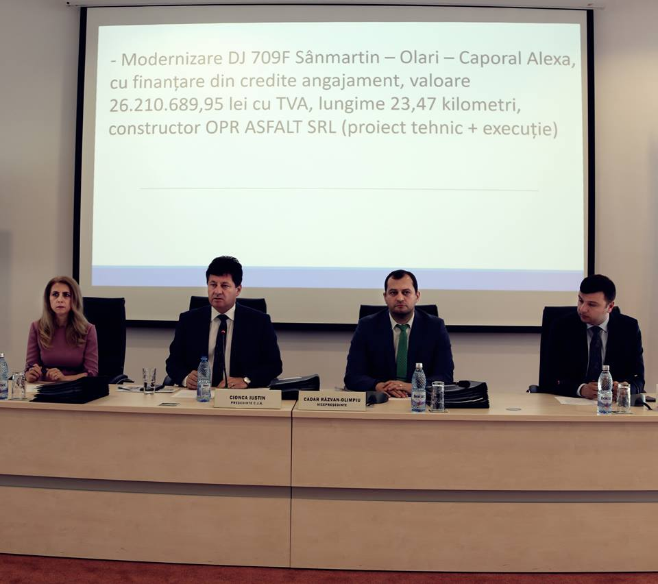 Consiliul Județean Arad modernizează drumul Dieci-Dezna,  din fonduri proprii