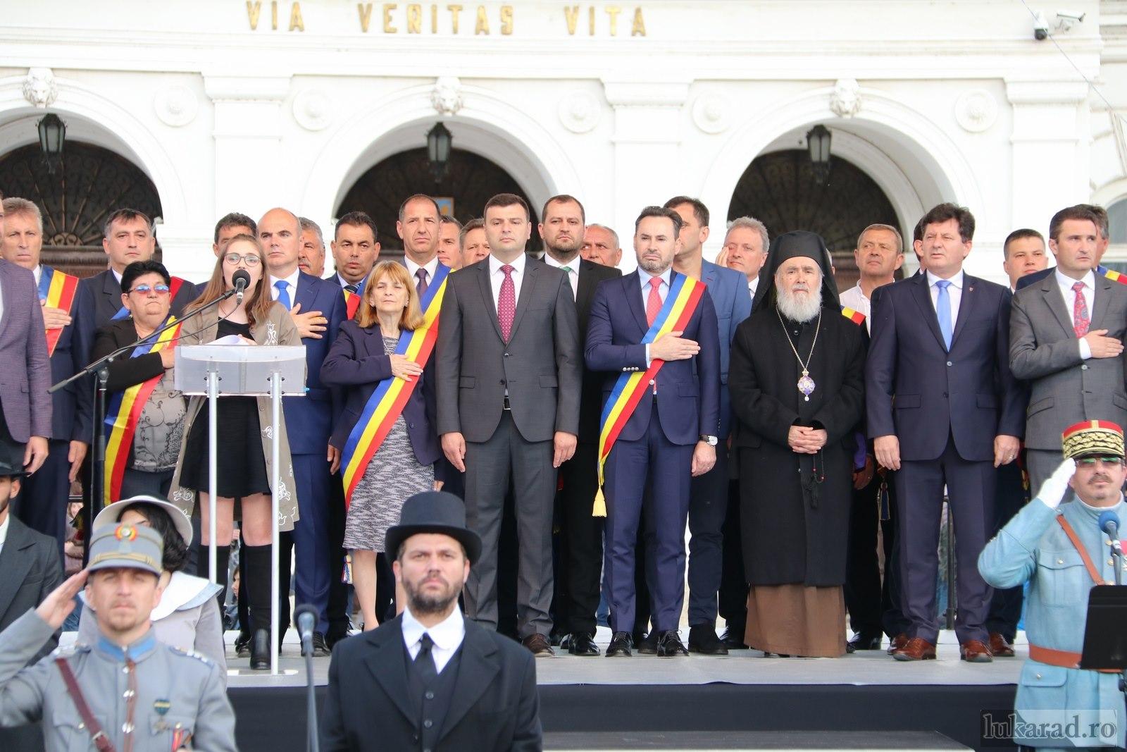"""Iustin Cionca: """"Arădenilor li se datorează că astăzi se rostește românește «Bună ziua» pe străzile Aradului, se spune «Vă rog», «Poftiți» și «Mulțumesc» în instituțiile noastre publice"""""""