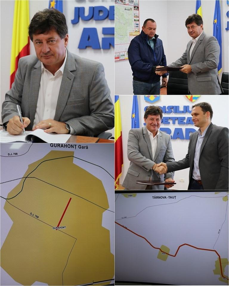 Iustin Cionca:  Un alt drum județean important intră în lucru, Târnova-Tauț!