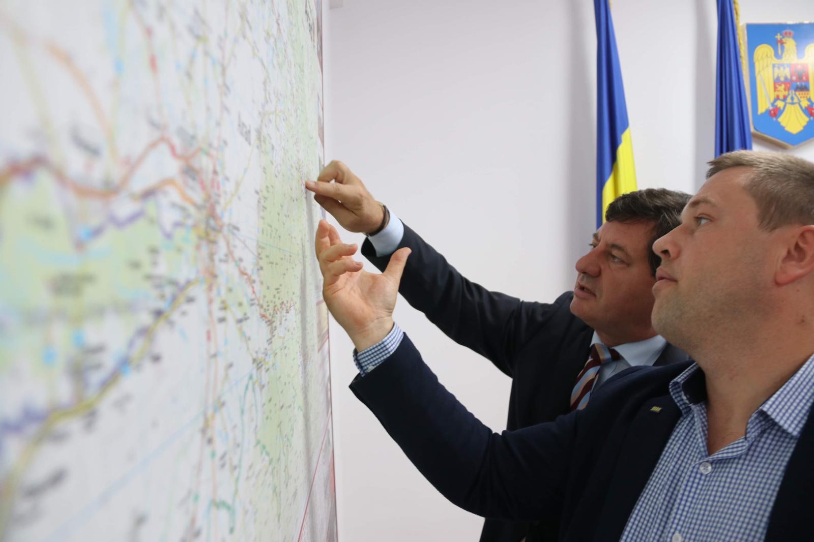 """Iustin Cionca: ,,Începem să lucrăm pentru modernizarea drumului Șofronea – Zimand Cuz"""""""