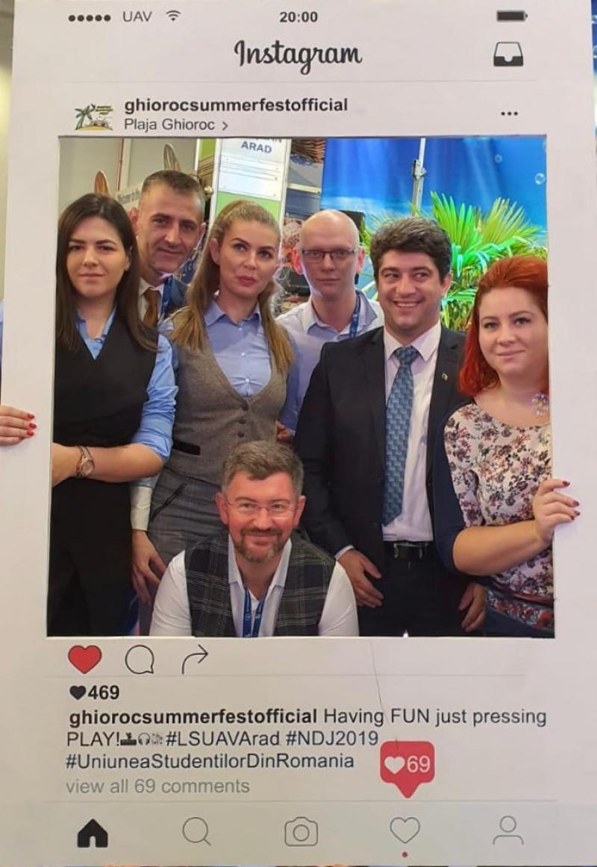 """Plaja Ghioroc a făcut """"valuri"""" la  Târgul Național de Turism al României"""