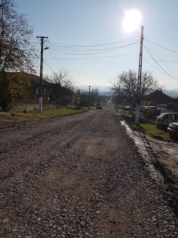 Stadiu avansat la lucrările pe drumul Gurahonț-Buteni!