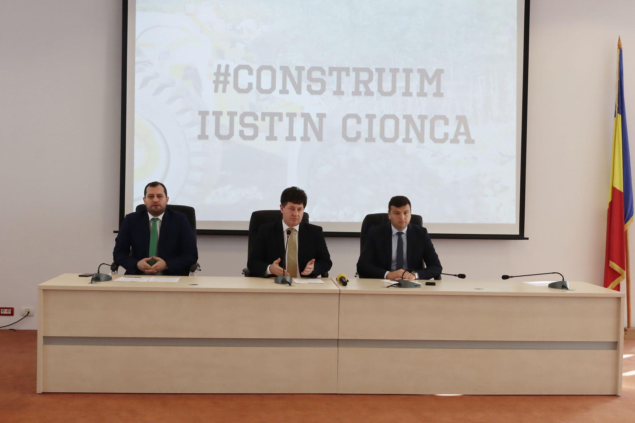 """Iustin Cionca: """"Anul 2019 a fost anul investițiilor care duc Consiliul Județean Arad pe primele locuri din România!"""""""