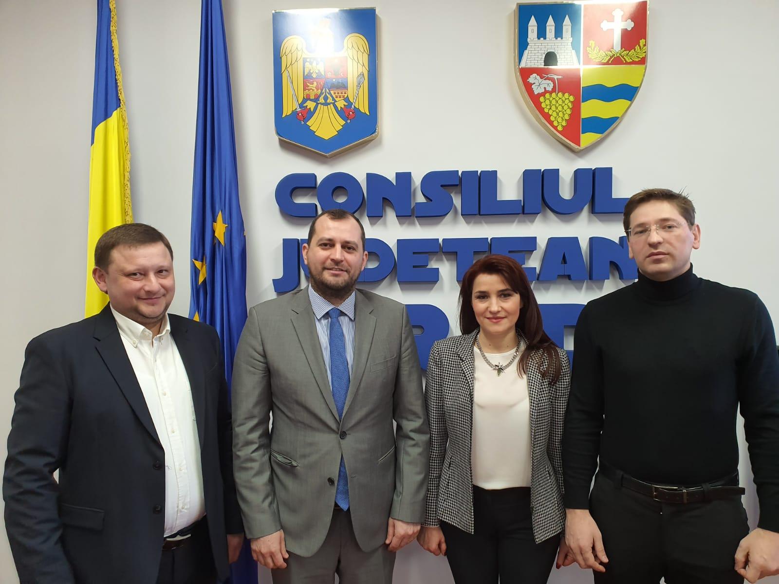 Vizită la Consiliul Județean Arad