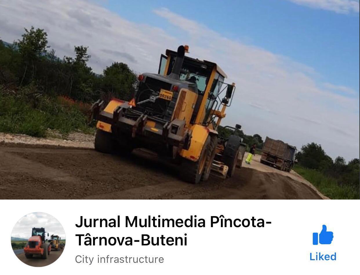 Consiliul Județean Arad a deschis un jurnal multimedia on-line și pentru drum județean Pîncota-Târnova-Buteni!
