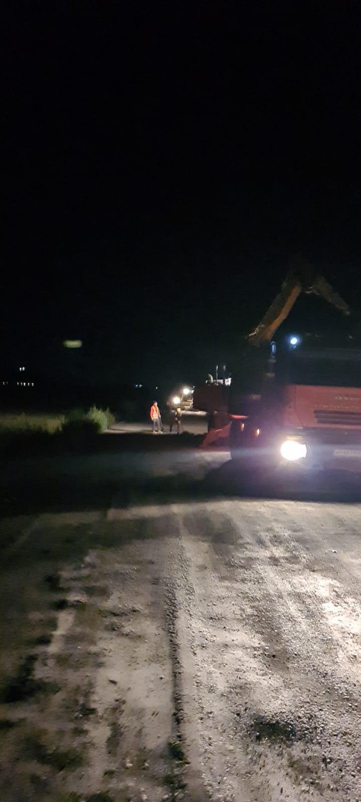 """Iustin Cionca: """"Pe drumul județean Pâncota-Târnova-Buteni s-a lucrat și noaptea!"""""""