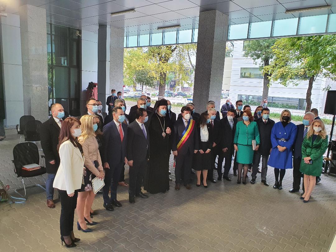Sedinta de constituire la Consiliul Județean Arad