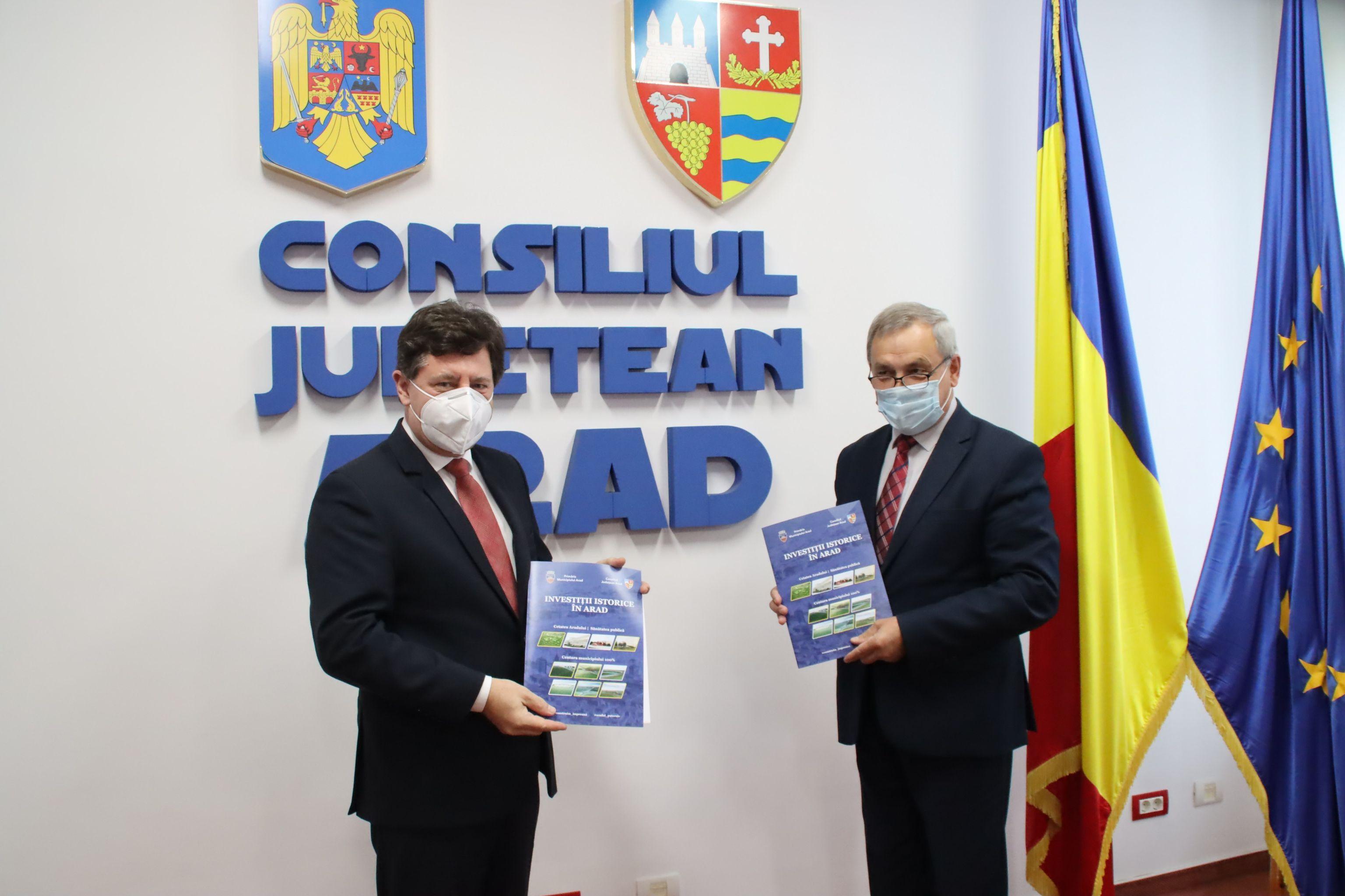 Raionul Anenii Noi și Județul Arad, nou Acord de Cooperare