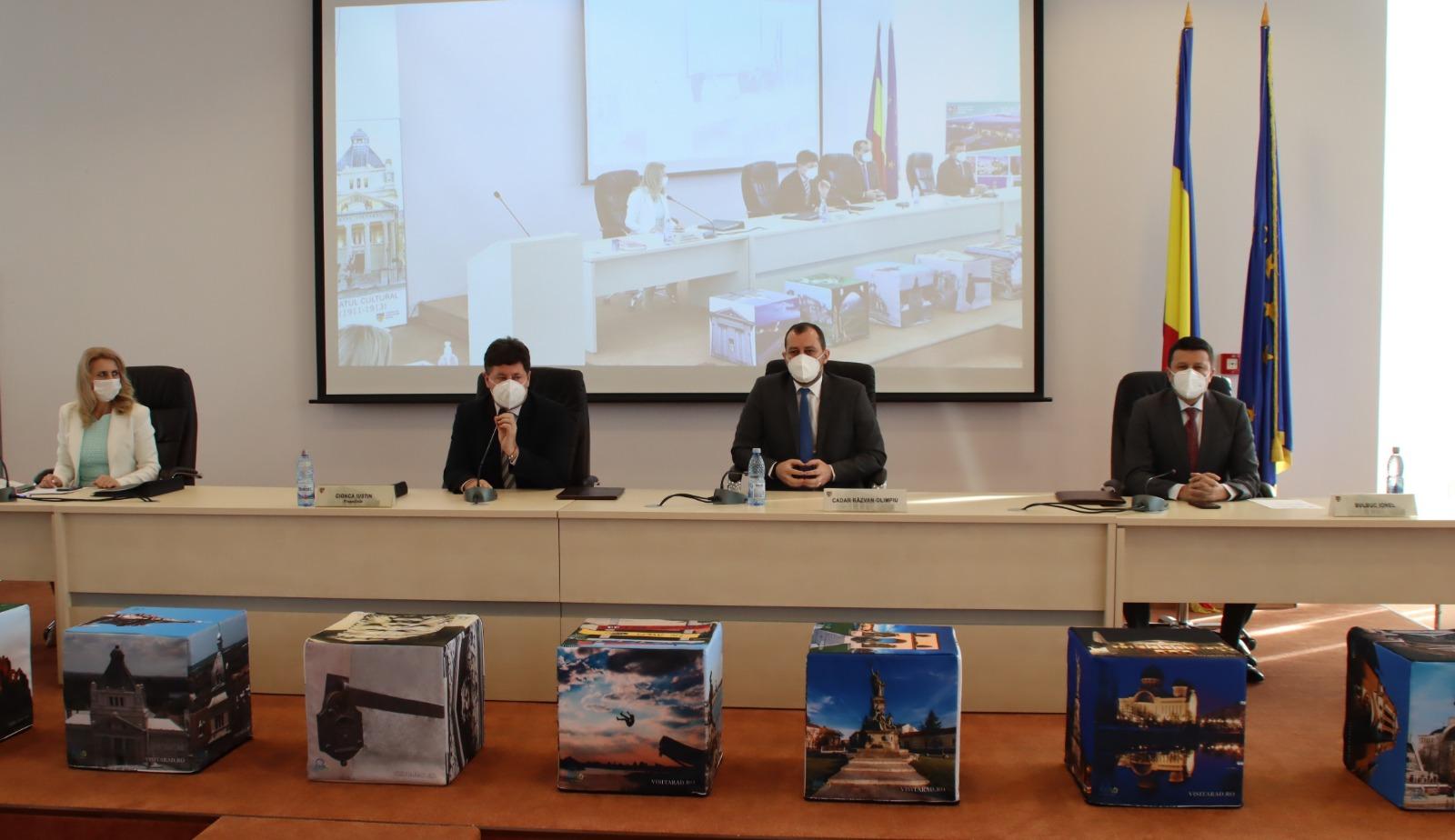 Răzvan Cadar, confirmat în funcția de vicepreședinte al Consiliului Județean Arad!