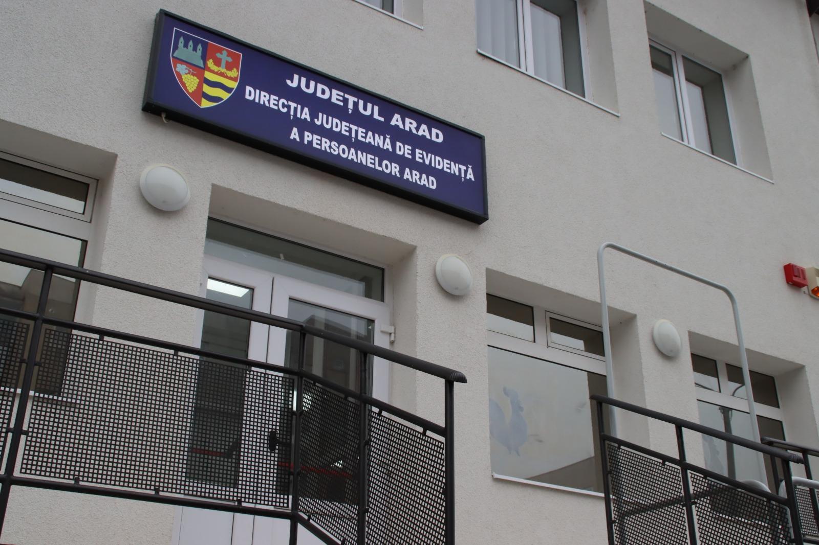 Consiliul Județean a construit un sediu nou și modern pentru Direcția Evidență a Populației!