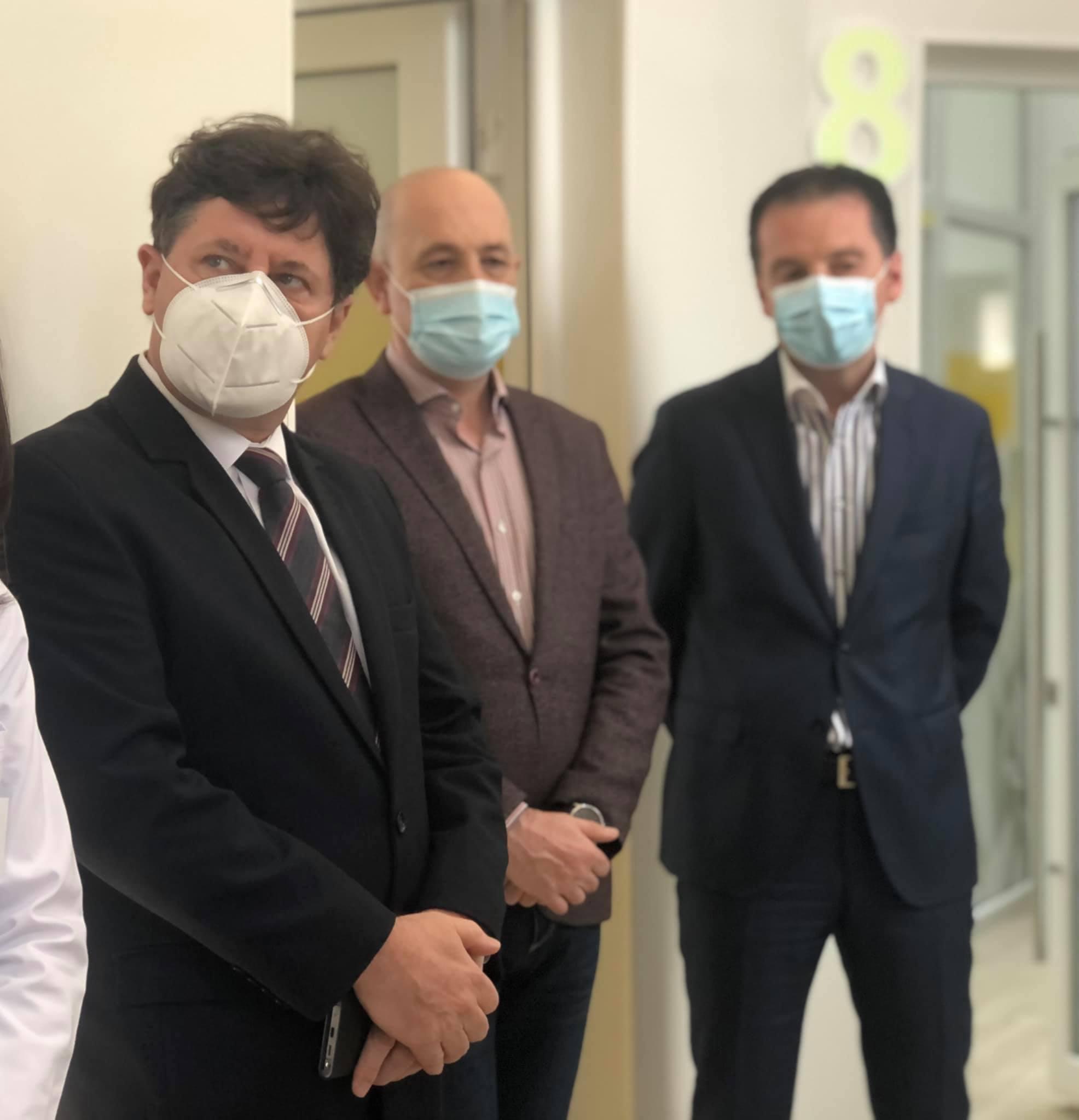 Una dintre cele mai frumoase secții de Pediatrie din România a fost inaugurată la Spitalul Clinic Județean de Urgență Arad, în prezența președintelui Consiliului Județean, Iustin Cionca.