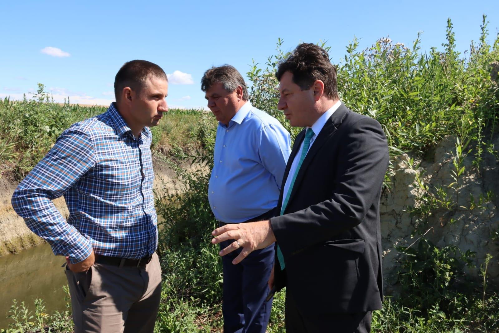 Vizita ministrului agriculturii la Arad